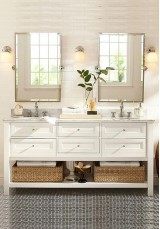 Wilma Double Vanity 153cm Marble Top
