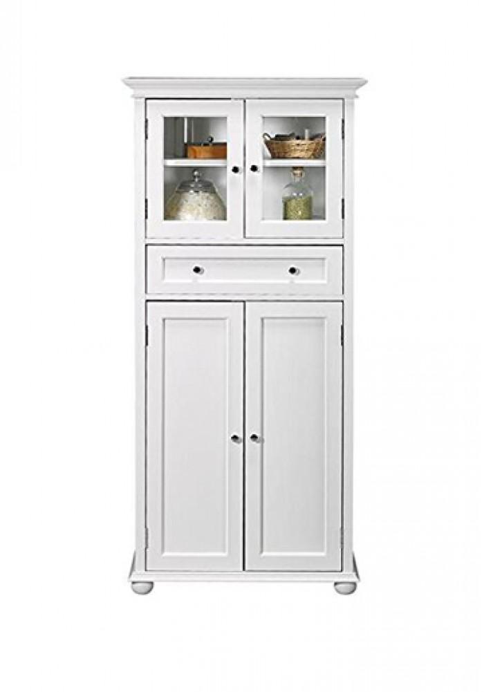 Hampton Linen Tall Cabinet H170cm