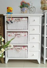 Laila 5 drawer bathroom storage unit