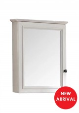 Meira Bathroom Wall Mirror Cabinet W50