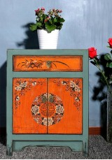 Bonnibel Oriental Bedside Table