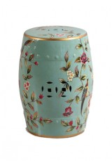Angela Oriental Ceramic Stool or Side table