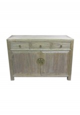 Kaili Chinese Elm Sideboard /Buffet  120cm