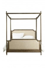 Casa Belle Oak Four Poster Full Bed - Queen