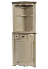 Felitie Corner Display Drinks Cabinet