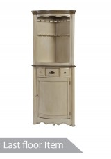 Felitie Corner Display Drinks Cabinet *Last 1 Floor Item*