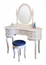 Hacket Dressing Table with Mirror and Stool