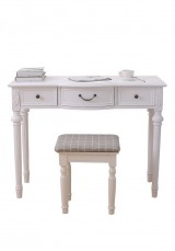 Liz Dressing Table with stool