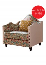 Petula Sofa 1 seater - Fabric version