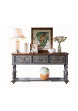 Ishtar Large Country Style Console Table 152W