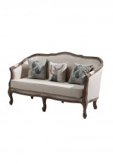 Casa Maison Sofa 3 Seater in Black Velvet