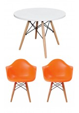 Kids Replica Eames DAW + Eiffel Table & Chair Set