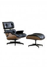 Replica Eames Lounge Chair - Premium Aniline Leather