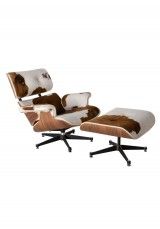 Replica Eames  Lounge Chair  Premium Cowhide Version