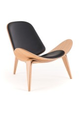 Shell Chair Replica Full Leather