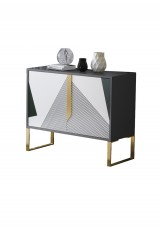 Ayala Modern Hand Painted Sideboard W100cm