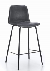 Cleona Bar Stool SH75cm - PU leather