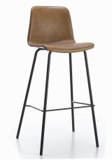 Cleona Bar Stool SH65cm - PU Leather