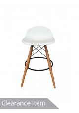 Replica Eames Eiffel Bar stool - Low Back Design SH68cm *Clearance Item*
