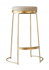 Lalita Wire Bar Stool SH75cm