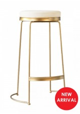 Lalita Wire Bar Stool SH65cm