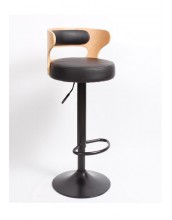Nick Bar Stool H77cm *Clearance Item* Black