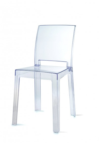 Adley Transparent Side Dining Chair *Clearance Item*