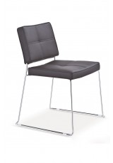 Aria Chrome Dining Chair