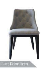 Hanna Chair - Grey Linen  Set of 2 *Last Floor Item*