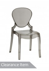 Queen Chair - Solid Ivory White *Clearance Item*