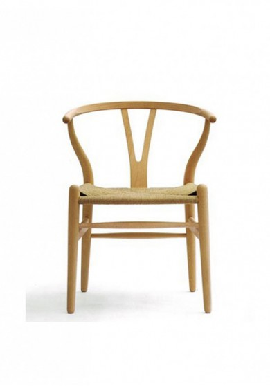 Wishbone Y Chair Replica Ash Wood