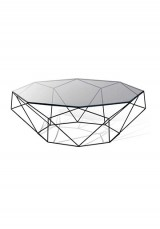Abel Mirrored Coffee Table  90cm