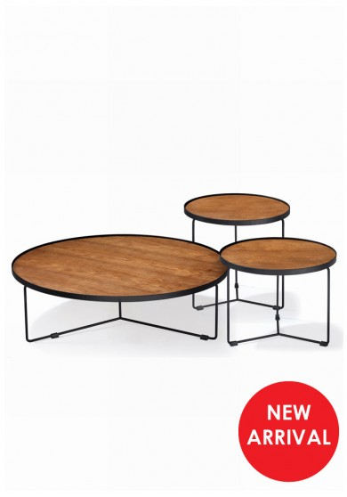 Fabre Round Coffee Table Set of 3