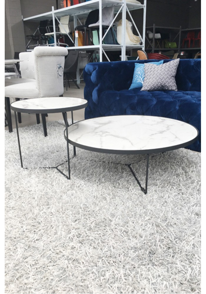 Coffee Table With Marble Top Js Interiors Furniture Nz
