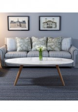 Kadir Oval Coffee Table