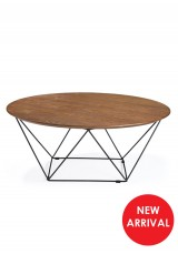 Rafi Coffee Table Oval Shape