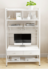 Beatrice Desk with Shelf W91cm