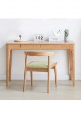 Bobby Desk W105 - Solid Oak