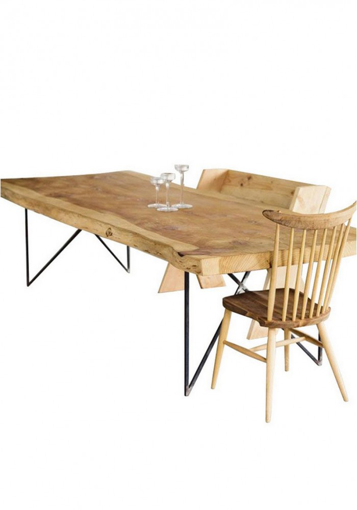 Felicie Dining Table W140cm Top Thickness 8cm