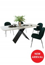 Gerritt Marble Dining Table W180cm