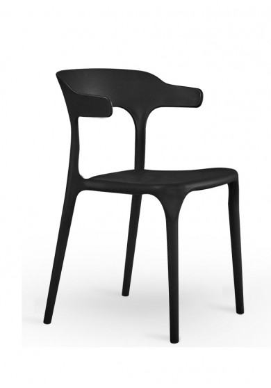 Ouida Side Dining Chair 2 colours ( Black and White )