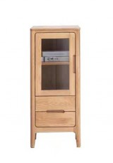 Asteria Solid Wood Display Cabinet