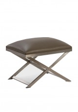 Hachi Stainless Steel Stool H45cm
