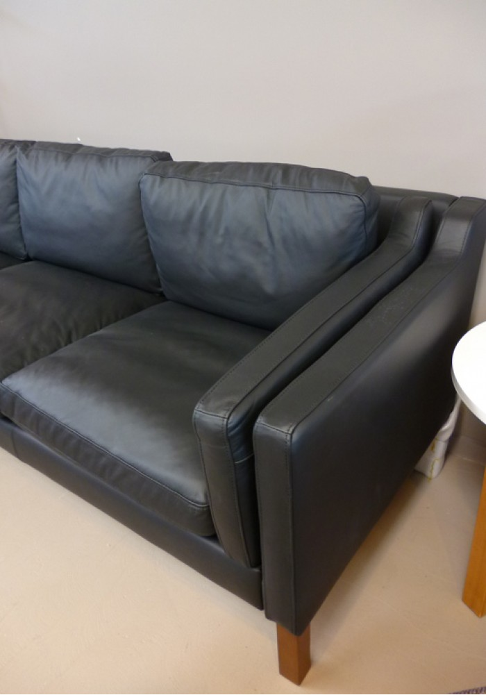 Replica Borge Mogensen Sofa Three Seater Full Leather