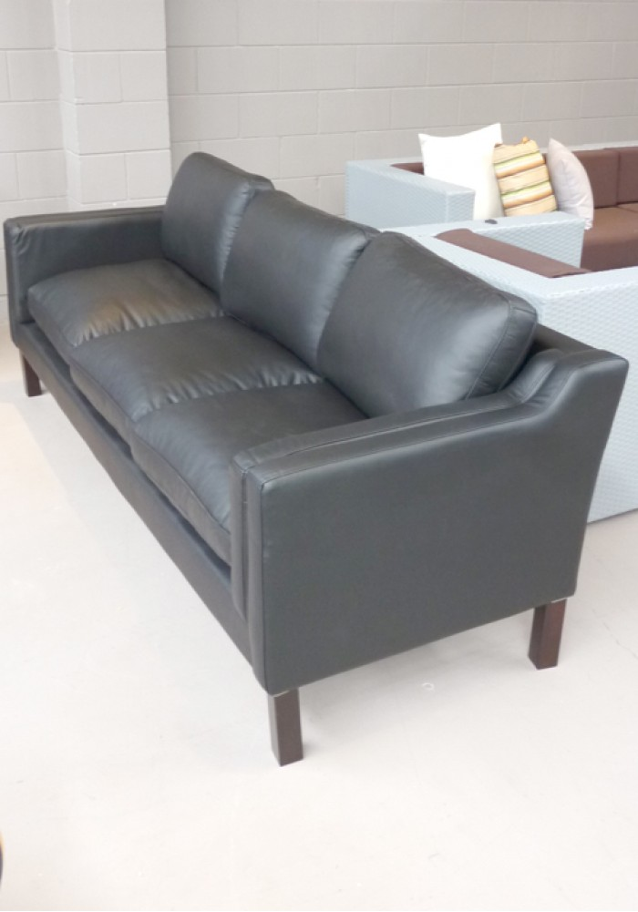 Replica Borge Mogensen Sofa 3 Seater Aniline Leather