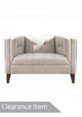 Rodolfo Sofa - 1 seater Grey *Clearance Item*