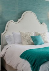 Felicia Upholstery Bed Headboard King