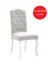 Ben Upholstery Dining Chair Button Style