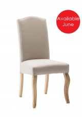 Ben Upholstery Dining Chair Wood Legs