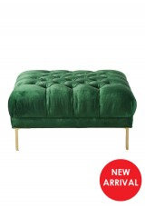 Soleil Tufted Foot Stool W95cm - Square